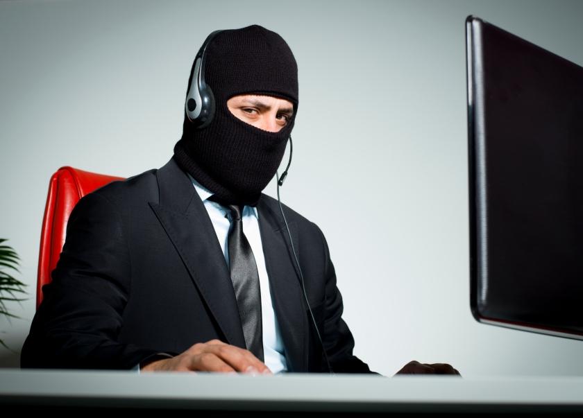 tech support scammer