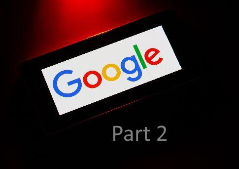 Google shine pt. 2