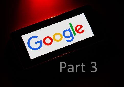 Google shine pt. 3